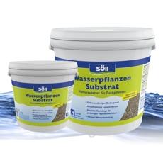 Söll WasserpflanzenSubstart ist die perfekte Grundlage für prächtiges Pflanzenwachstum.