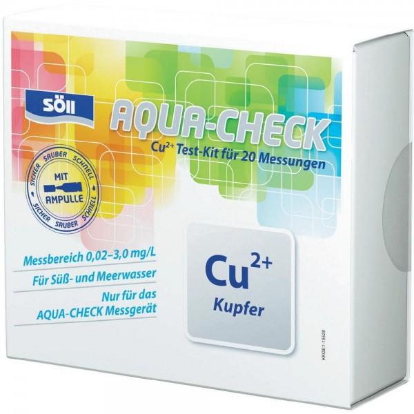 Söll Kupfer-Test für AQUA-CHECK für 20 Messungen