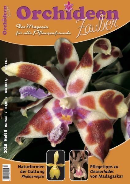 Orchideenzauber 2016 Heft 3