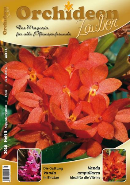 Orchideenzauber 2016 Heft 5