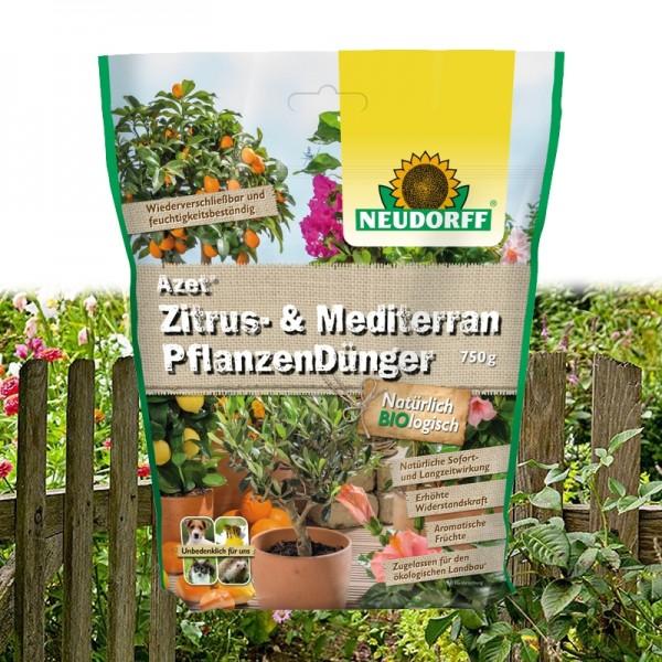 Azet Zitrus- & MediterranPflanzenDünger 750g