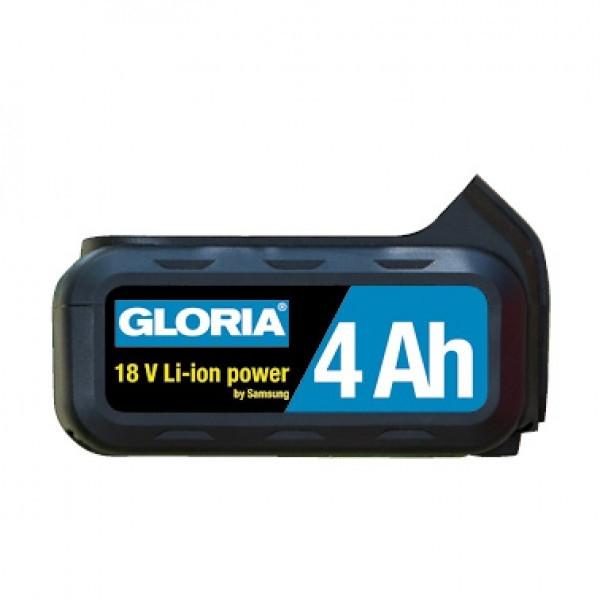 GLORIA Lithium-Ionen-Akku 728970 18V/4AH für MultiBrush li-on