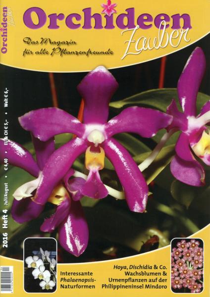 Orchideenzauber 2016 Heft 4