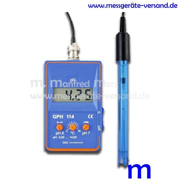 pH-Messgerät Greisinger GPH 114