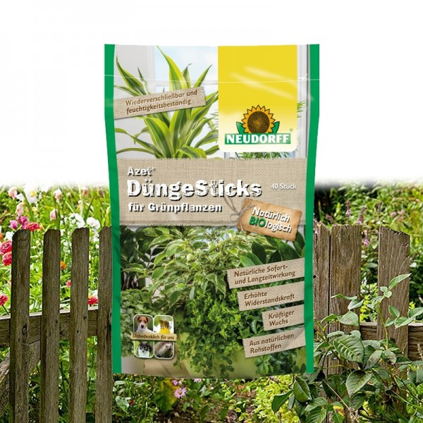 Azet DüngeSticks für Grünpflanzen