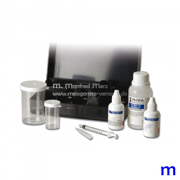Testkit HI3811 für Alkalinität 110 Tests