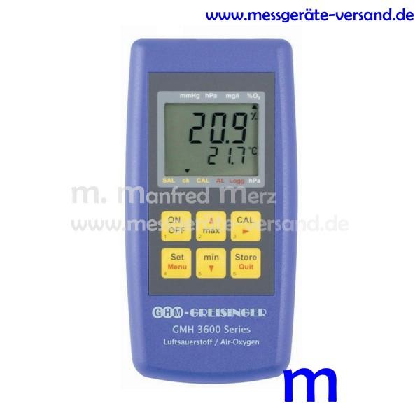 Greisinger Luftsauerstoffhandmeßgerät GMH 3692