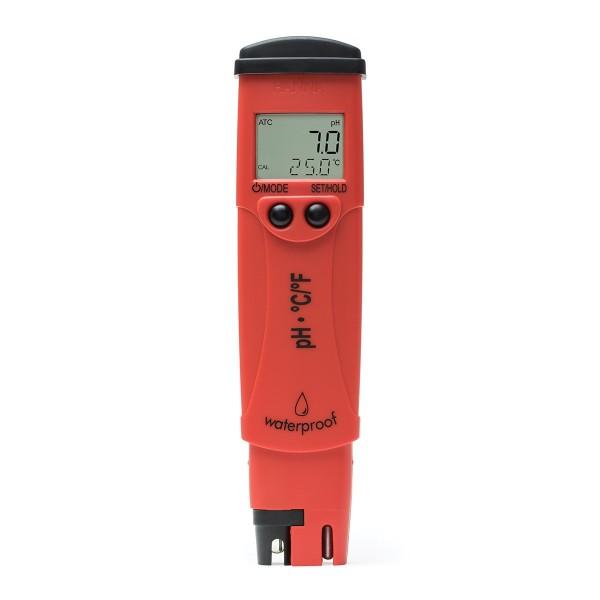 pH-Messgerät Hanna HI98127 pHep 4 m. Temperaturanzeige