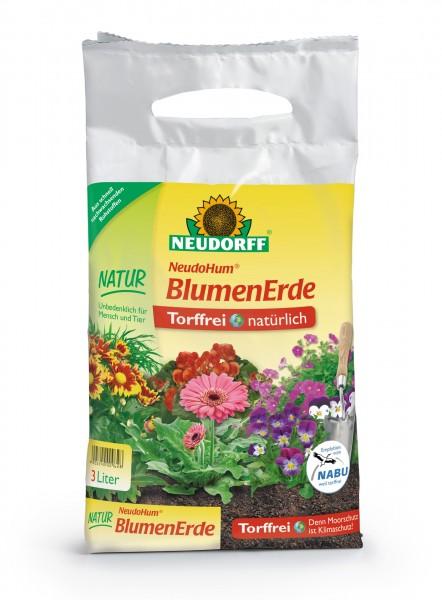 NeudoHum® BlumenErde 3 Liter