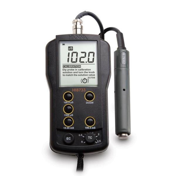 Hanna Leitfähigkeitsmessgerät / EC-Meter HI8733