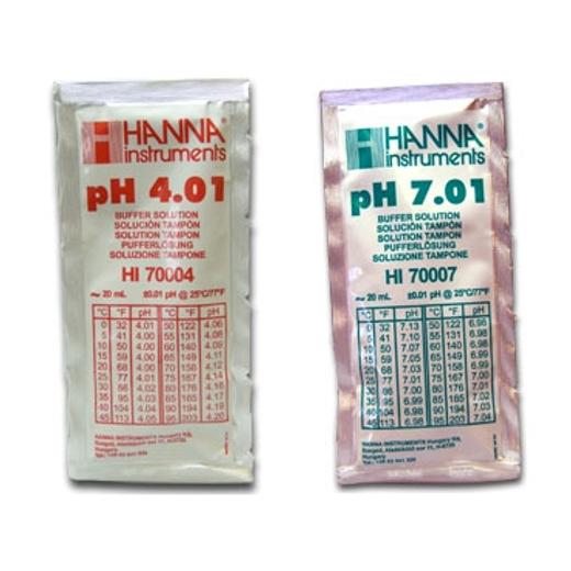 Hanna pH-Kalibrierkit pH 4,01 und pH 7,01