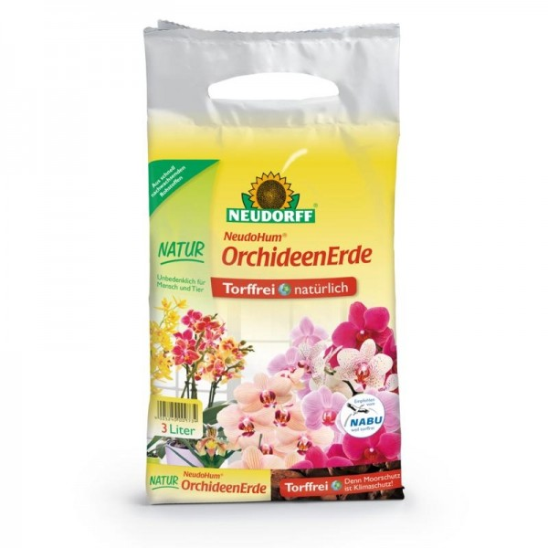 NeudoHum OrchideenErde 3 Liter