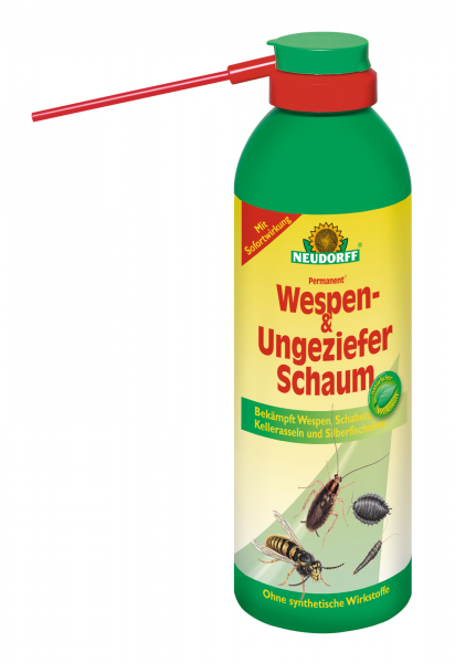 Neudorff Permanent Wespen- und UngezieferSchaum