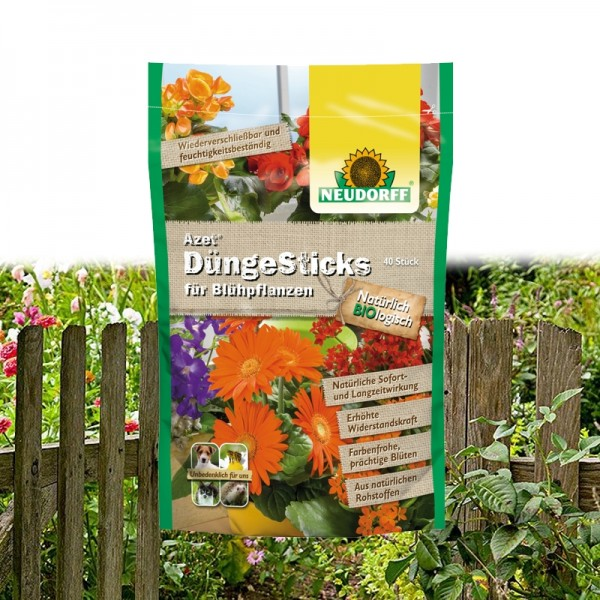Azet DüngeSticks für Blühpflanzen