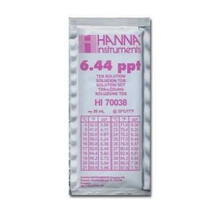 Hanna TDS-Kalibrierlösung 6,44 ppt (g/l)