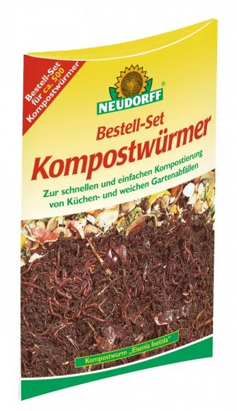 Kompostwürmer Bestell-Set