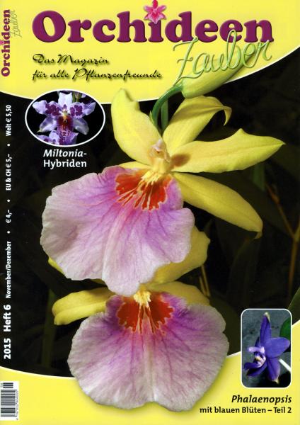 Orchideenzauber 2015 Heft 6